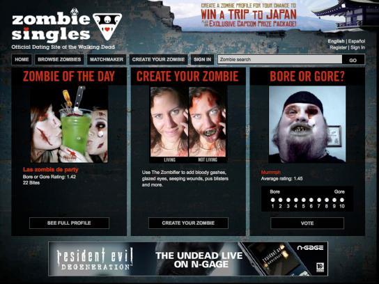 Nokia Digital Ad -  Zombie Singles