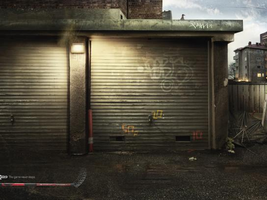 Zone Print Ad -  Garage door precision