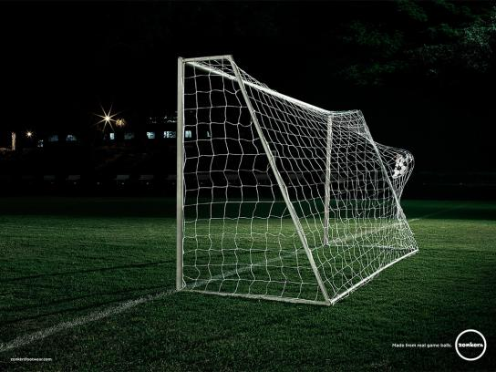 Zonkers Print Ad -  Soccer