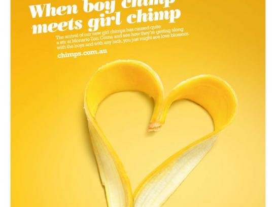 Monarto Zoo Print Ad -  Banana