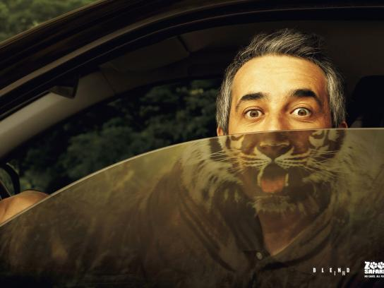 Zoo Safari Print Ad -  Tiger