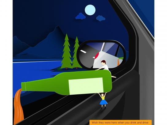Driverzz Print Ad - Drink & Drive