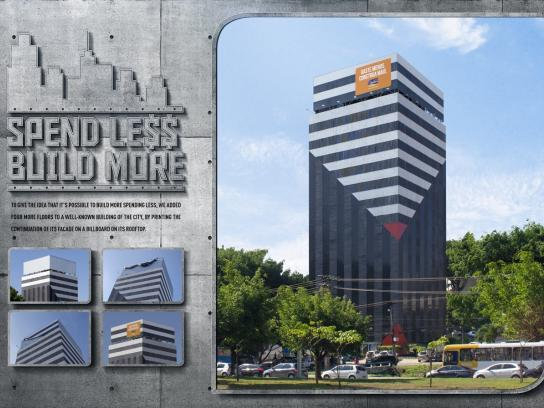 Ramos Outdoor Ad -  Spend less, build more