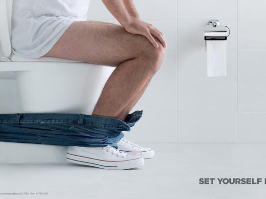 Imodium Print Ad -  Pants