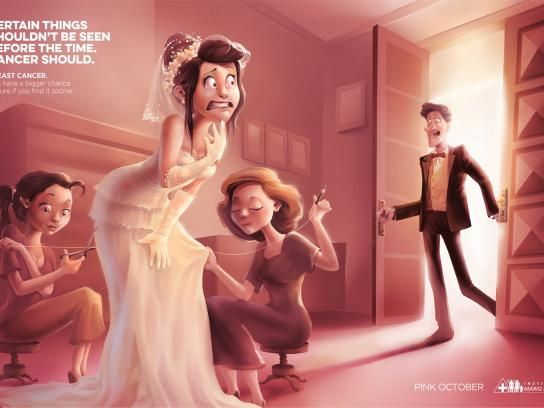 Instituto Mário Penna Print Ad -  Wedding