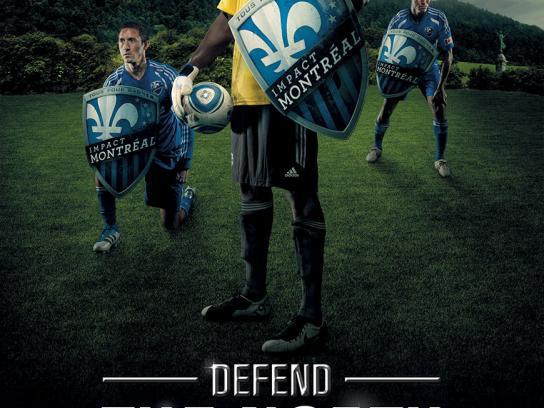 Impact Print Ad -  Defend the North