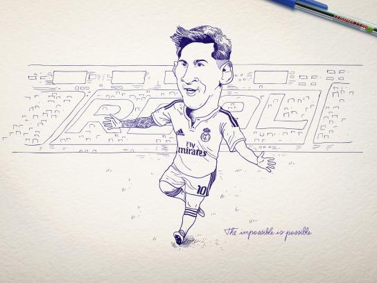 Compactor Print Ad -  Messi