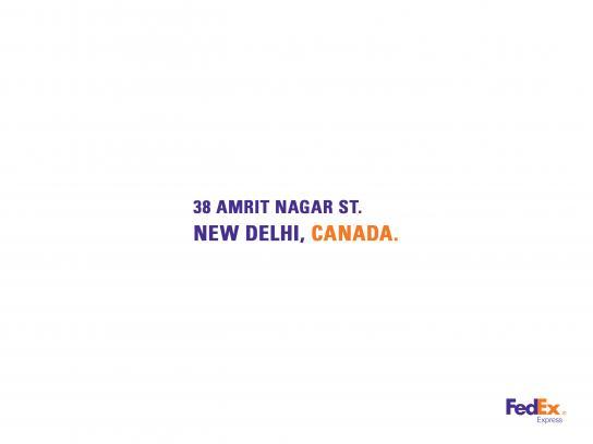 FedEx Print Ad - India
