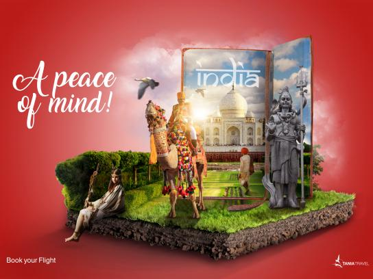Tania Travel Print Ad - India