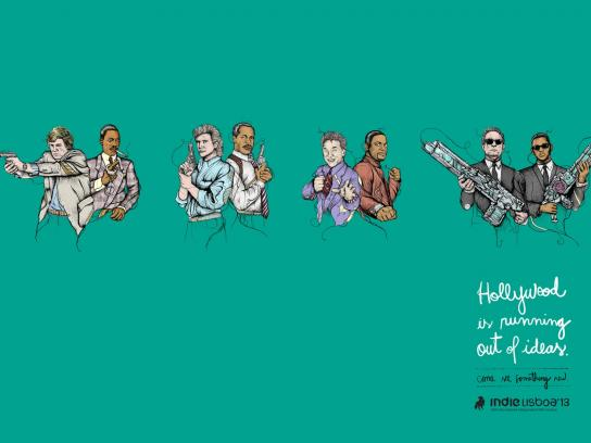 IndieLisboa Print Ad -  Cops