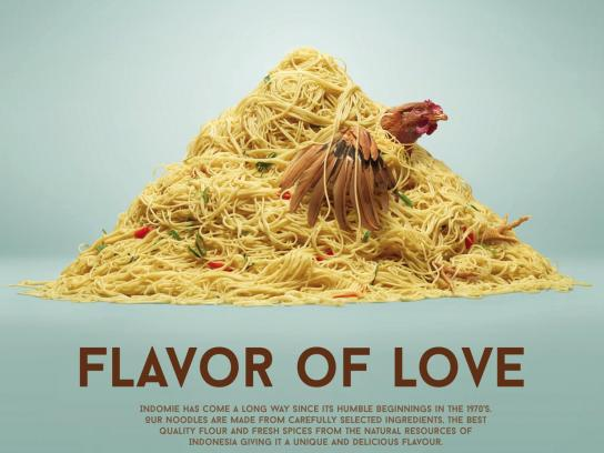 Indomie Noodles Print Ad - Flavor of Love, 1