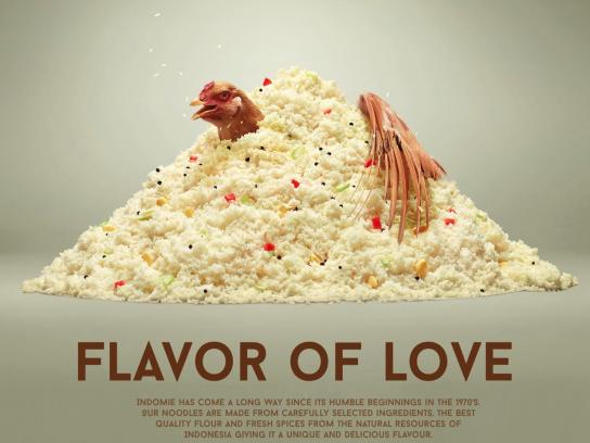 Indomie Noodles Print Ad - Flavor of Love, 3