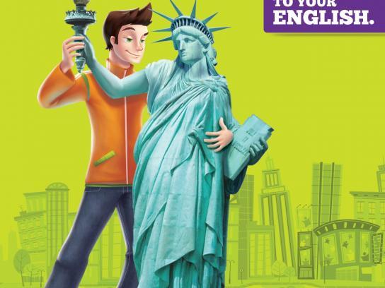 inFlux Print Ad -  Statue of Liberty