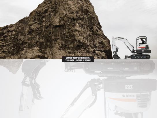 Bobcat Print Ad -  Perspective, 2