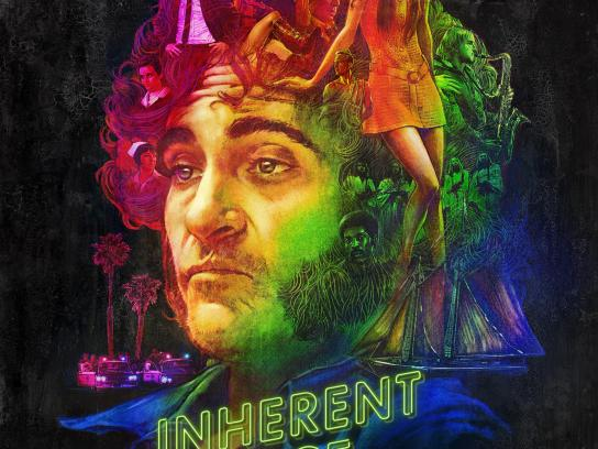 Inherent Vice Print Ad - One-Sheet