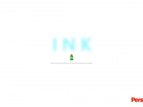 Persil Outdoor Ad -  Ink