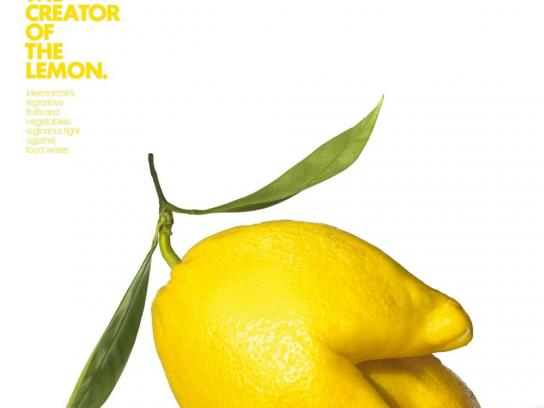 Intermarche Print Ad -  Failed lemon