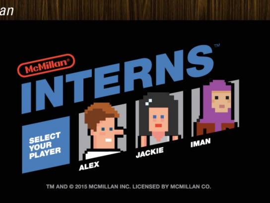 McMillan Digital Ad -  Interns  The Video Game
