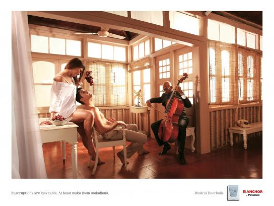 Panasonic Print Ad -  Interruptions Grapes