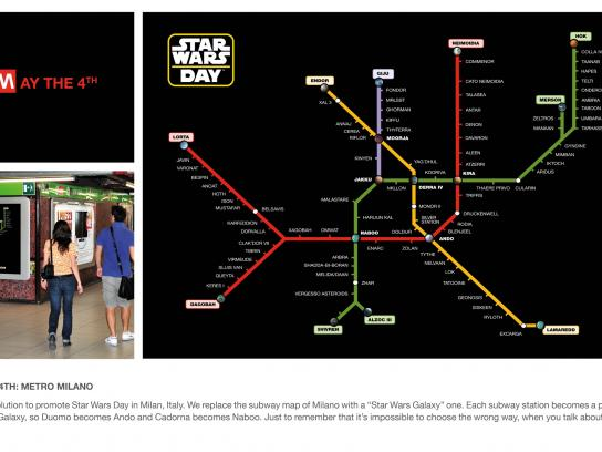 Star Wars Outdoor Ad -  MayThe4th