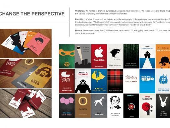 Invasione Creativa Direct Ad -  Change Perspective