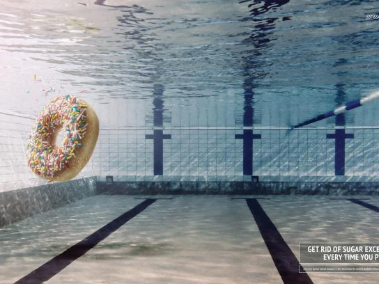 Janssen Print Ad -  Donut