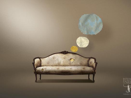 IO Design Print Ad -  Sofa