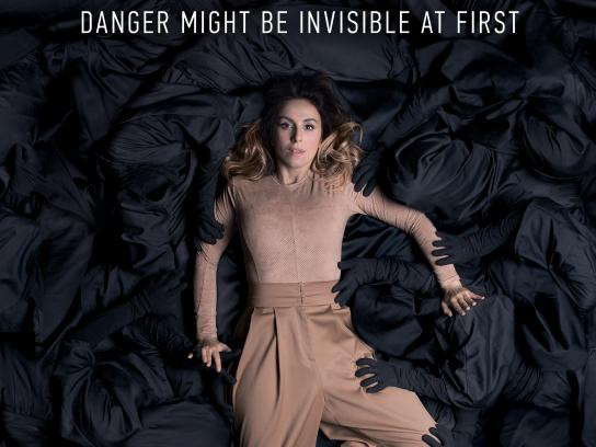 International Organization for Migration Outdoor Ad - Danger Might Be Invisible At First, 1