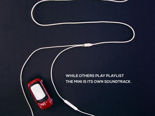 Mini Print Ad -  iPod