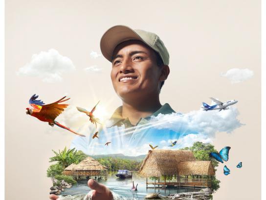 LAN Print Ad -  Iquitos