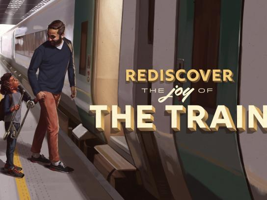Iarnród Eireann Print Ad - Rediscover the Joy of the Train, 3