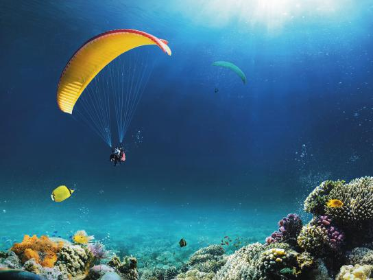 IRT Print Ad - Paragliding
