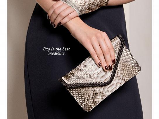 Isabelle Farrugia Print Ad - Wrist