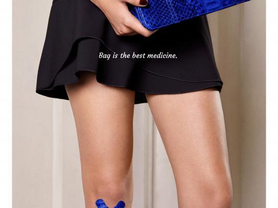 Isabelle Farrugia Print Ad - Knee