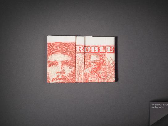 Isbank Print Ad -  Ruble