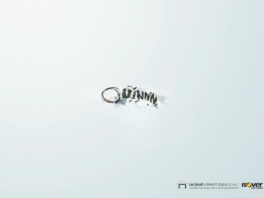 Isover Print Ad -  Mammoth
