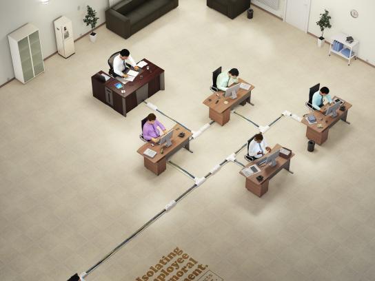 Ministério Público do Trabalho Print Ad -  Organograms, 2