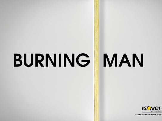 Isover Print Ad -  Man