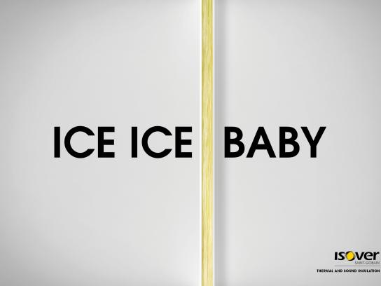 Isover Print Ad -  Baby