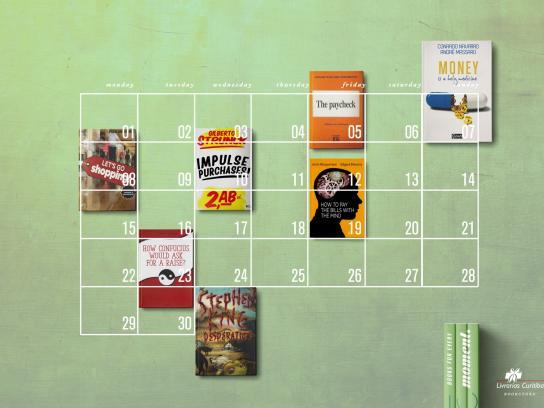 Livrarias Curitiba Print Ad -  Month