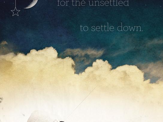 Inspiration Youth Academy Outdoor Ad -  Settle down