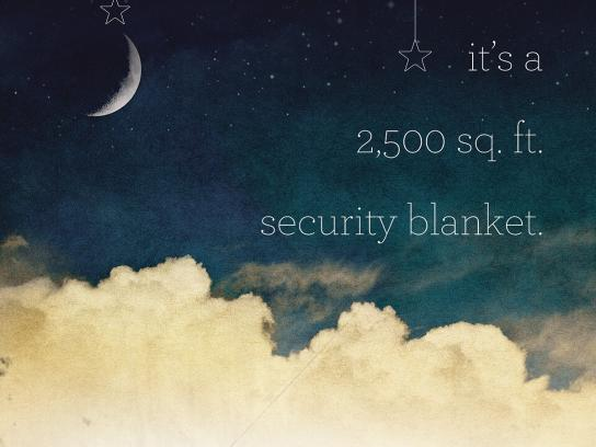 Inspiration Youth Academy Outdoor Ad -  Security blanket