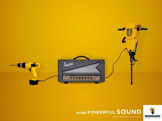 Kıvılcım Müzik Print Ad - More Powerful Sound, 2