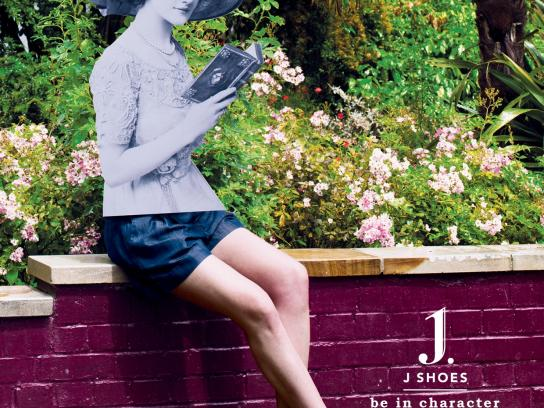 J Shoes Print Ad -  Be in character, 5