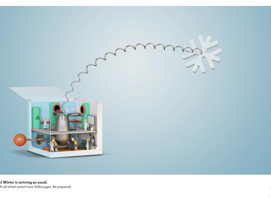 Volkswagen Print Ad -  Jack-in-the-box