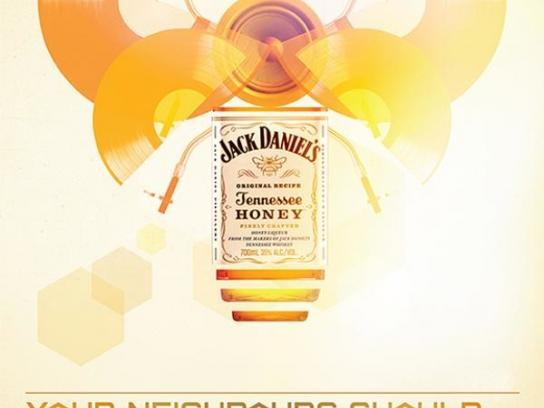 Jack Daniel's Print Ad -  The spirit of music, 4