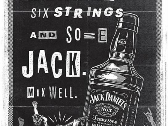 Jack Daniel's Print Ad -  The spirit of music, 3