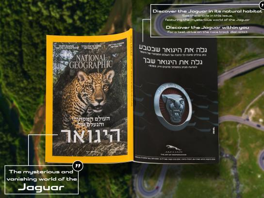 Jaguar Print Ad - National Geographic