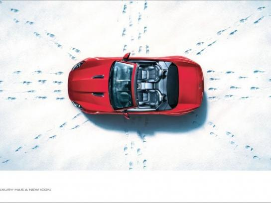 Jaguar Print Ad -  Flag