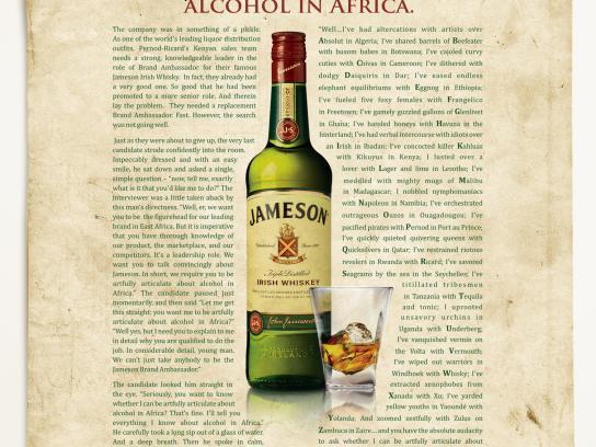Jameson Print Ad -  Jameson Alliteration